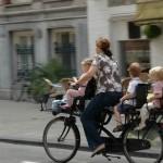no helmet cycling
